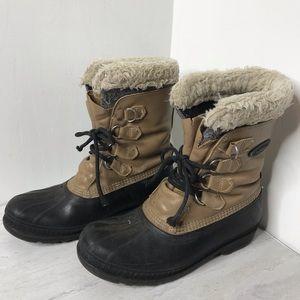 Sorel Men's insulated waterproof winter boots 10